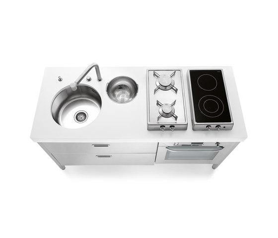 Cocinas 160 de ALPES-INOX | Cocinas compactas