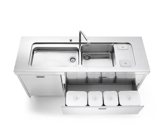 190 Kitchens by ALPES-INOX | Kitchen organization