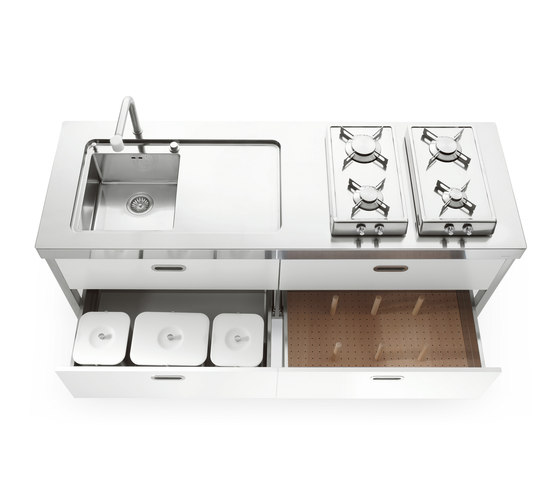 190 Kitchens by ALPES-INOX | Compact kitchens