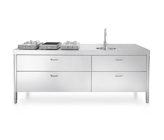 220 Kitchens by ALPES-INOX | Compact kitchens