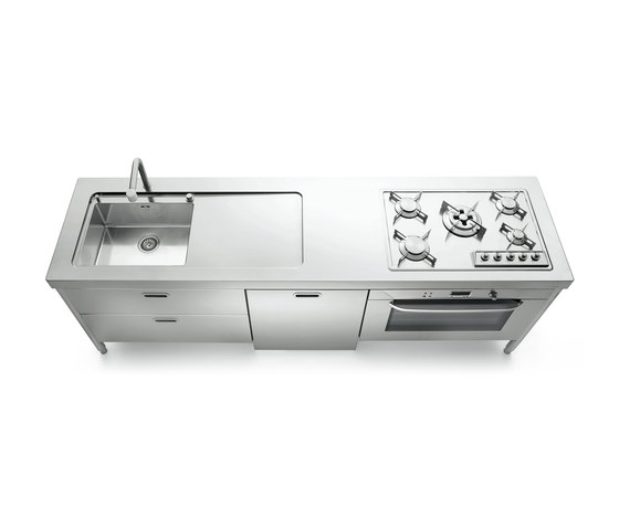 250 Kitchens by ALPES-INOX | Compact kitchens