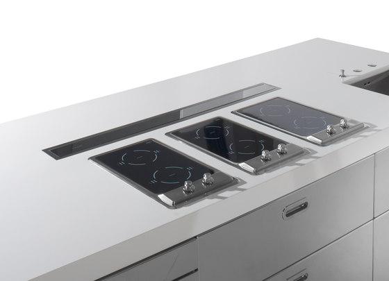 Isla Cocina 280 de ALPES-INOX | Cocinas modulares