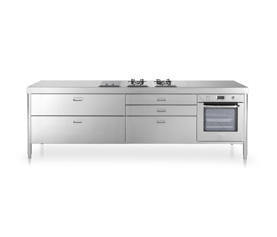 280 Kitchens by ALPES-INOX | Modular kitchens