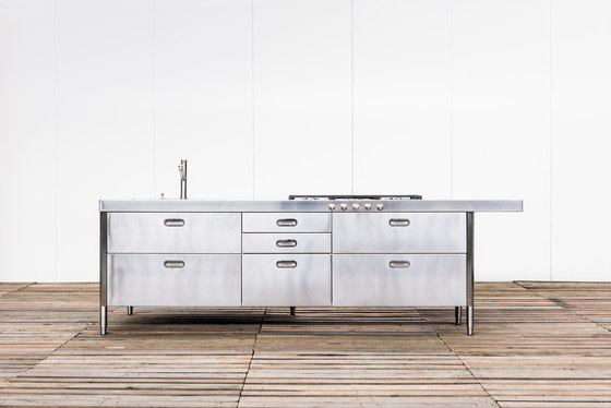 Isla Cocina 280 de ALPES-INOX | Cocinas compactas