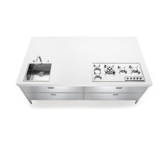 Kitchen Islands 250 by ALPES-INOX | Compact kitchens