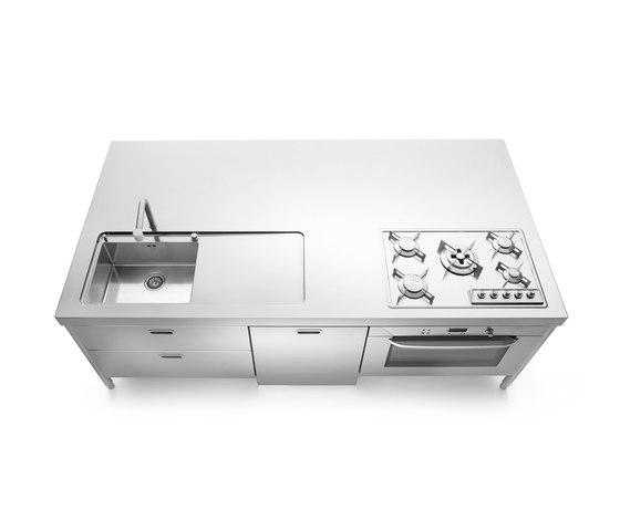 Isla Cocina 250 de ALPES-INOX | Cocinas compactas