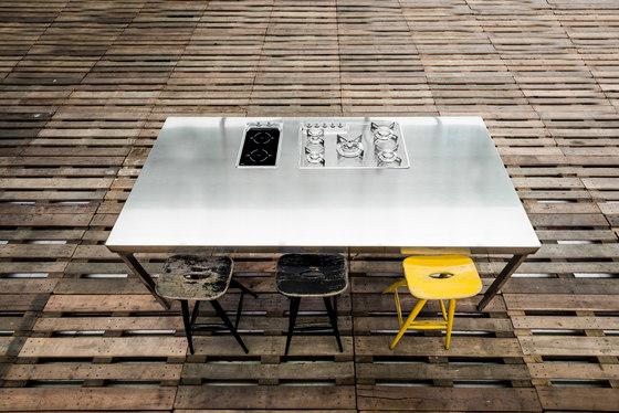 Isla Cocina 250 de ALPES-INOX   Cocinas modulares