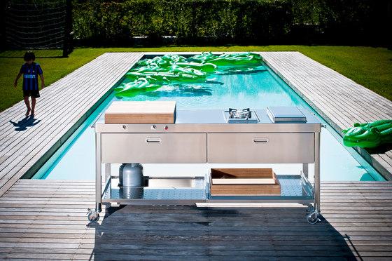 Outdoor 190 Kitchens by ALPES-INOX   Modular kitchens