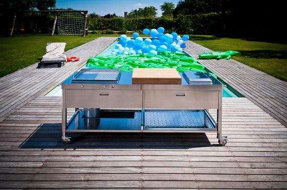 Outdoor 190 Kitchens by ALPES-INOX | Modular kitchens