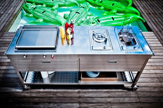 Outdoor Cocinas 190 de ALPES-INOX | Cocinas modulares
