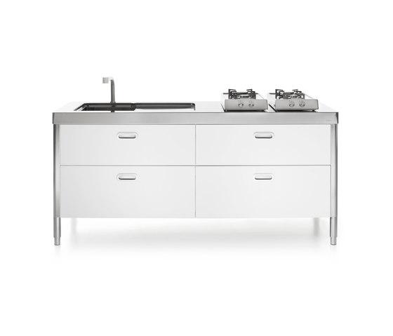 Kitchen Island 190 by ALPES-INOX | Compact kitchens