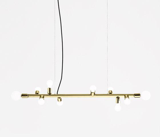 Party hanging lamp gold de almerich | Suspensions