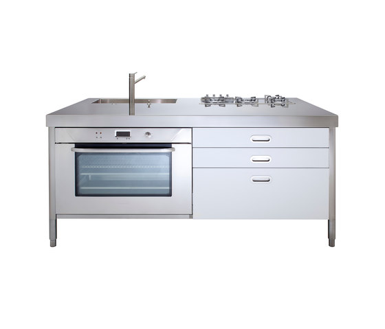 Kitchen Islands 190 by ALPES-INOX | Compact kitchens