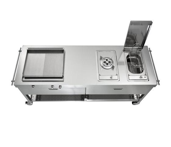 Outdoor Cucine 190 di ALPES-INOX | Cucine modulari