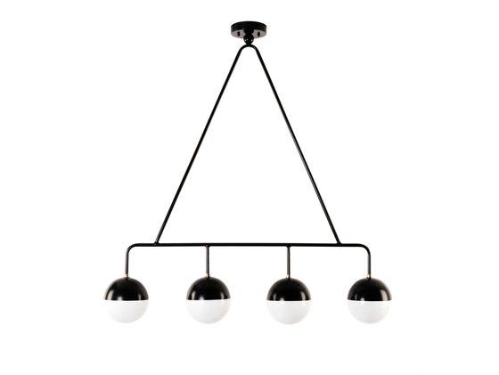Balise Chandelier/Pendant de Atelier de Troupe | Iluminación general