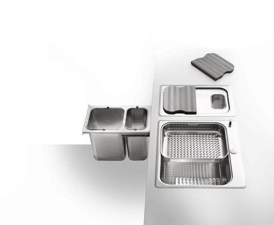 Sinks by ALPES-INOX | Kitchen organization