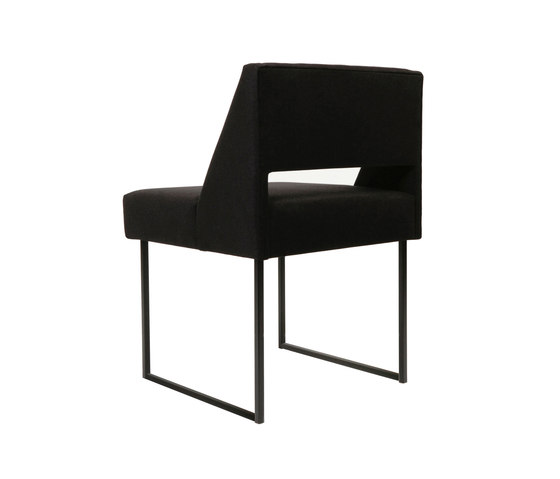 Cubist Chair by Atelier de Troupe | Visitors chairs / Side chairs