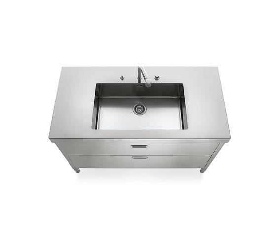 Sinks 130 Kitchens by ALPES-INOX | Kitchen sinks
