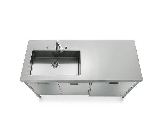 Sinks 160 Kitchens by ALPES-INOX   Kitchen sinks