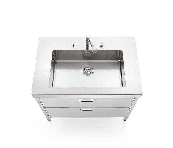 Sinks 100 Kitchens - Kitchen sinks by ALPES-INOX Architonic