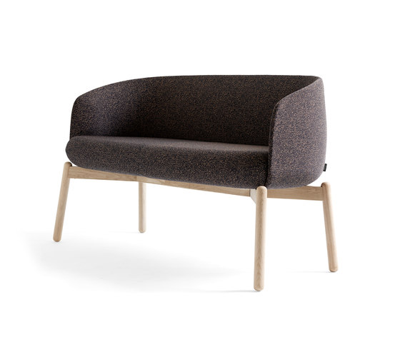 Low Nest Sofa Wood by +Halle | Sofas