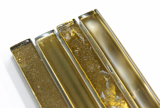Filigree   24K Gold de Interstyle Ceramic & Glass   Carrelage en verre