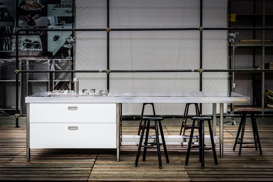Kitchen Islands 310 by ALPES-INOX   Compact kitchens