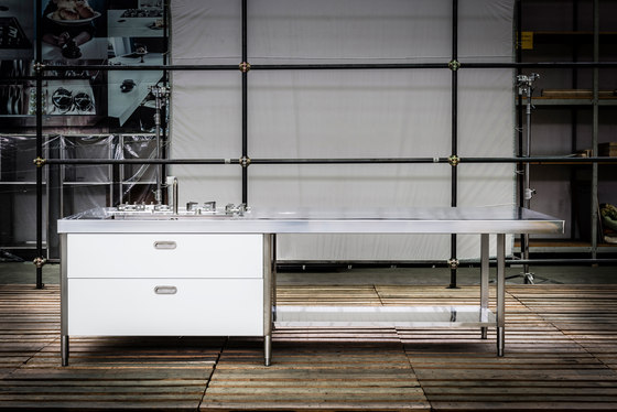 Kitchen Islands 310 by ALPES-INOX | Compact kitchens
