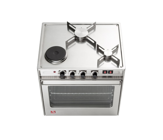 Hobs - Small Nautical Kitchen by ALPES-INOX | Hobs