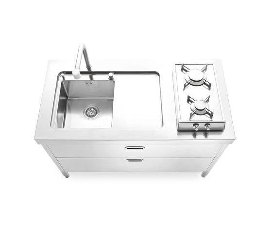 Cucine 130 di ALPES-INOX | Cucine compatte