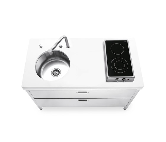 Cocinas 130 de ALPES-INOX | Cocinas compactas