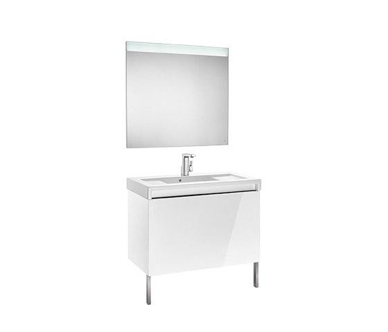 Stratum-N | Unik (base unit and basin) by ROCA | Wash basins