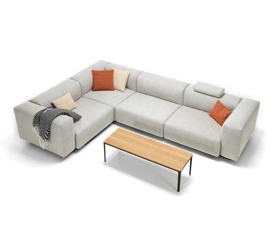 Soft Modular Sofa 3-Seater, corner element by Vitra | Sofas