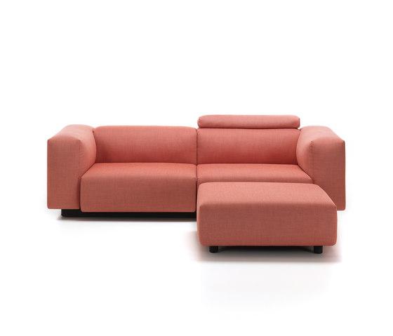 Soft Modular Sofa 2-Seater, Ottoman by Vitra | Sofas