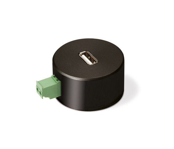 Puck USB charger by Basalte | USB power sockets