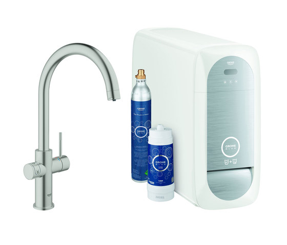 GROHE Blue Home C-spout Starter kit by GROHE | Kitchen taps