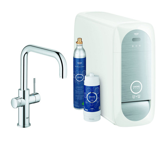 grohe blue home u spout starter kit kitchen taps from grohe architonic. Black Bedroom Furniture Sets. Home Design Ideas