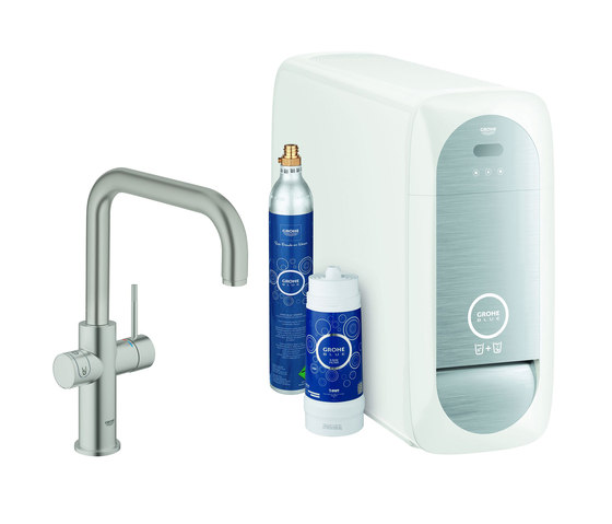 GROHE Blue Home U-spout Starter kit by GROHE | Kitchen taps
