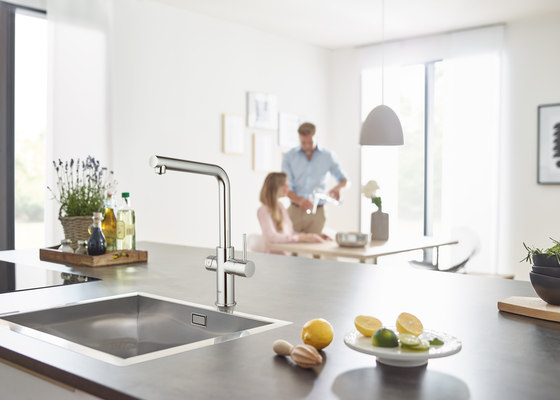 GROHE Blue Home L-spout Starter kit by GROHE | Kitchen taps