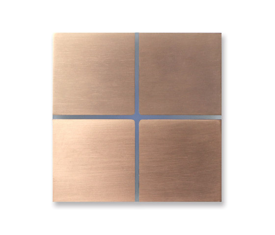 Sentido 4-way new soft copper by Basalte | KNX-Systems
