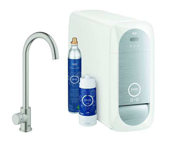 GROHE Blue Home Mono Starter kit by GROHE | Kitchen taps