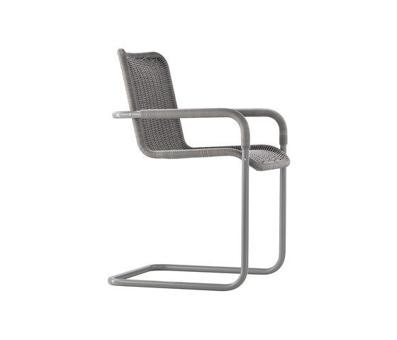 D41 Cantilever chair with armrests by TECTA | Visitors chairs / Side chairs