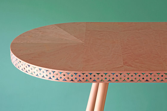 Shamsian Paua console table de Bethan Gray   Mesas consola