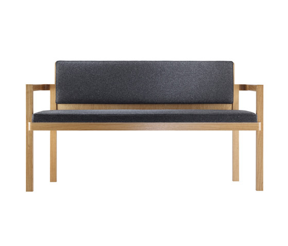 D51-2 Bench 2 seats by TECTA | Benches
