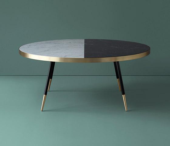 Band marble coffee table de Bethan Gray | Mesas de centro