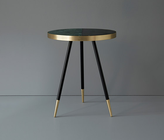 Band marble side table by Bethan Gray | Side tables