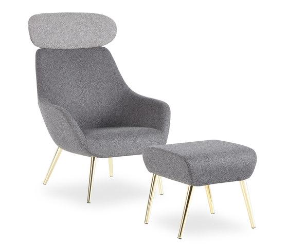 Lamy de B&T Design | Sillones lounge