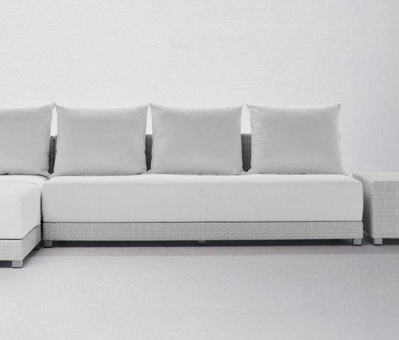InOut 207 von Gervasoni | Modulare Sitzelemente