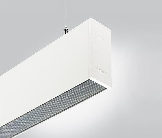 Rigo 50 | suspended flush prismatic de Arcluce | Éclairage général