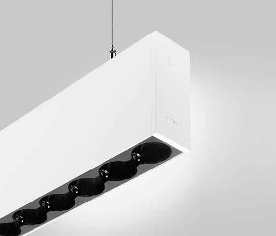 Rigo 50 | suspended gc black de Arcluce | Suspensions